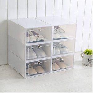 Small Plastic Shoe Storage 6 Box Set